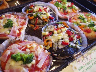 季節のパンピザ