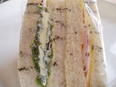 ゴマパンサンドイッチ